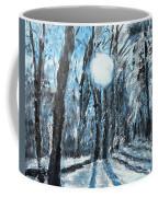 Hochleite In January Coffee Mug