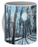 Hochleite In January Coffee Mug