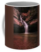 Hocking Hills Cedar Falls Long Exposure Coffee Mug