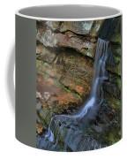 Hocking Hills State Park Small Waterfall Coffee Mug