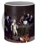 Hogarth: Midnight, 1731 Coffee Mug