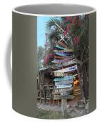 Hogfish Bar And Grill Directional Sign Coffee Mug