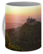 Hohenzollern Castle At Sunset Coffee Mug by Yair Karelic