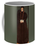 Holbein Christina Of Denmark- Duchess Of Milan 1538 Nation Hans The Younger Holbein Coffee Mug