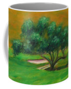 Hole 14 Split The Difference Coffee Mug