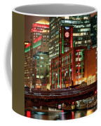 Holiday Colors Along Chicago River Coffee Mug