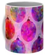 Holiday Colors - Christmas Pattern Coffee Mug