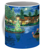 Holiday Delivery At Whisper Lake  Coffee Mug