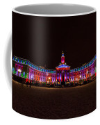 Holiday Lights Of The Denver City And County Building Coffee Mug