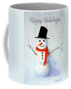 Holiday Snowman Coffee Mug