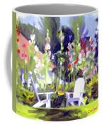 Holly Hocks Coffee Mug