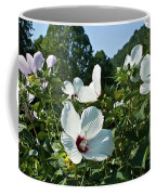 Hollyhock At Sunrise Coffee Mug