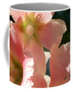 Hollyhocks 5 2017 Coffee Mug