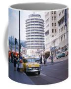 Hollywood And Vine California 1956 Coffee Mug