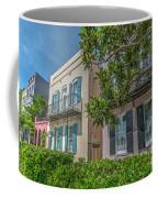 Holy City Rainbow Row Coffee Mug