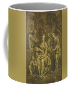 Holy Family With Angels Coffee Mug