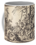 Holy Family With Putti Coffee Mug