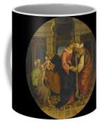 Holy Family With Saints John Elisabeth And Zacharias Coffee Mug