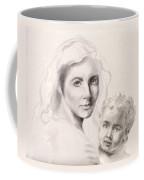 Holy Mary And Christ Child Coffee Mug