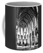 Holy Name Cathedral Chicago Bw 03 Coffee Mug