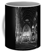 Holy Name Cathedral Chicago Bw 04 Coffee Mug