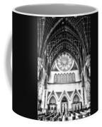 Holy Name Cathedral Chicago Bw 06 Coffee Mug