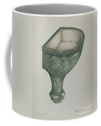 Holy Water Font, Santa Barbara Coffee Mug