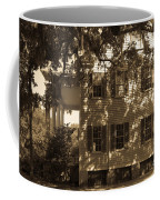 Mcleod Plantation Home In Black And White Coffee Mug