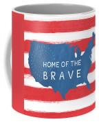 Home Of The Brave Coffee Mug