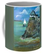 Home Overlooking The Sea Coffee Mug
