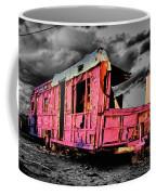 Home Pink Home Black And White Coffee Mug