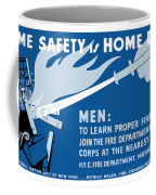 Home Safety Is Home Defense Coffee Mug by War Is Hell Store