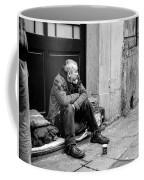 Homeless In Brussels Coffee Mug