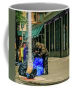 Homeless In Nyc Coffee Mug