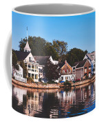 Homes On Kennebunkport Harbor Coffee Mug