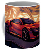 Honda Acura Nsx 2016 Mixed Media Coffee Mug