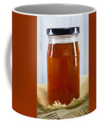 Honey In Clear Glass Jar Coffee Mug