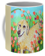 Honey In The Flower Fields Coffee Mug