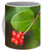 Honey Suckle Berry Seeds Coffee Mug