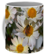 Honeybee And Daisy Mums Coffee Mug