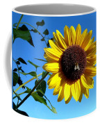 Honeybee On A Sunflower Coffee Mug