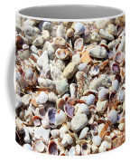 Honeymoon Island Shells Coffee Mug