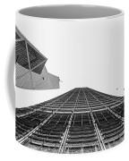 Hong Kong Building Black And White Coffee Mug
