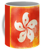 Hong Kong China Flag Coffee Mug by Setsiri Silapasuwanchai