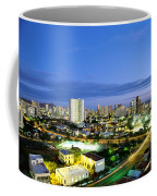 Honolulu City Lights Coffee Mug