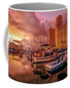 Honolulu Waterfront Oahu Coffee Mug