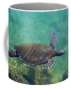 Honu Gliding Along Coffee Mug