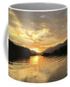 Hood River Golden Sunset Coffee Mug