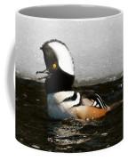 Hooded Merganser Maine Coffee Mug