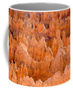 Hoodoos And Other Eroded Cliffs Light Coffee Mug